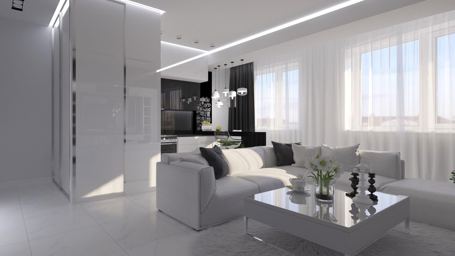 Дизайн квартиры 38 м в Санкт-Петербурге - цены на
